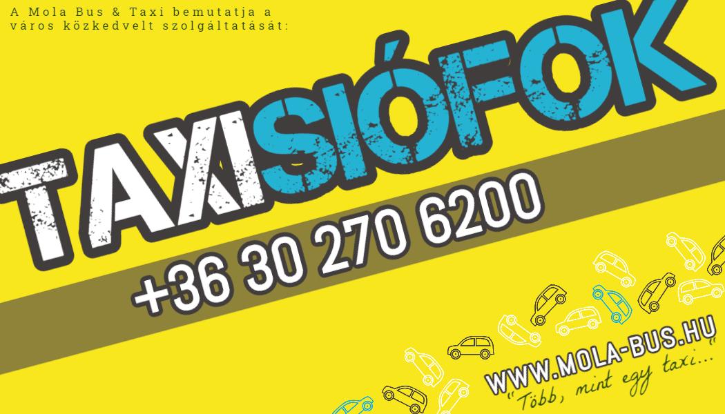 Siófok Taxi rendelés
